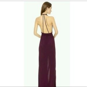 Rory Beca lily halter gown with tie